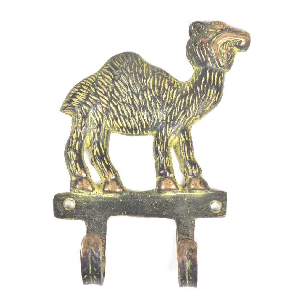 Brass 2 Hooksed Camel Hooks