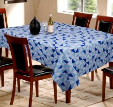Pure Natural Table Cover In Blue Colour