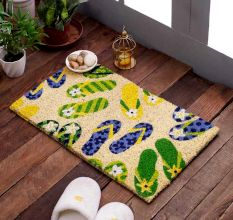 SWHF VBC Bleach Printed Door And Floor Mat : Flip-Flop