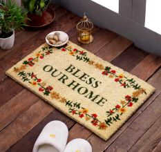 SWHF VBC Bleach Printed Door and Floor Mat : Bless Your Home