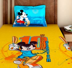 Bombay Dyeing Disney Kids Bedsheet : Mickey Mouse Master Blaster