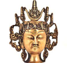 Bronze Lokeshwar Head Statue