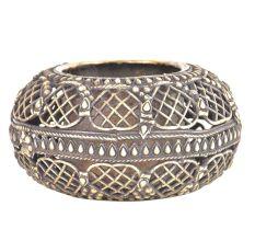 Bronze Circular Jali Design Ashtray
