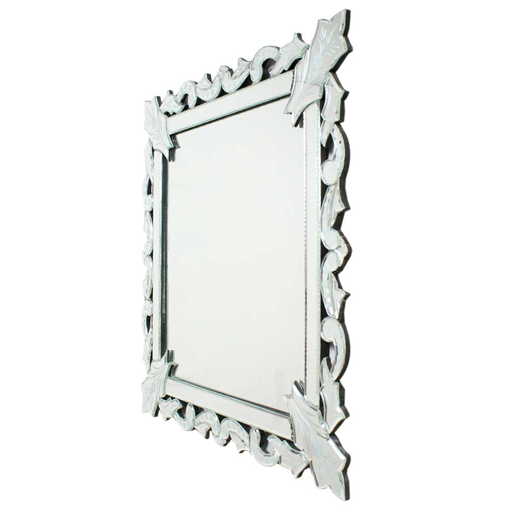 Ornarte Square Modern Venetian Mirror