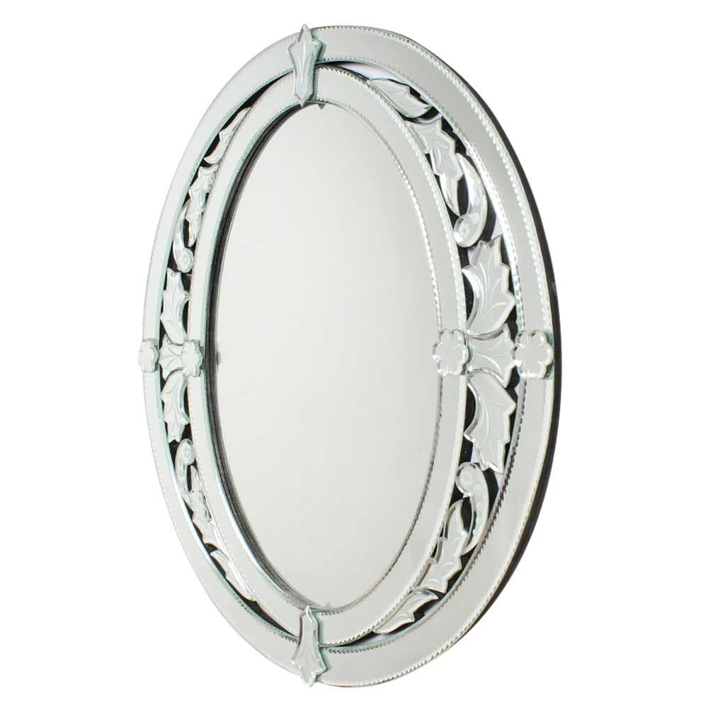 Traditional Oval Venetian Styled Mirror