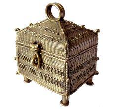 Dhokra Jewelry Box