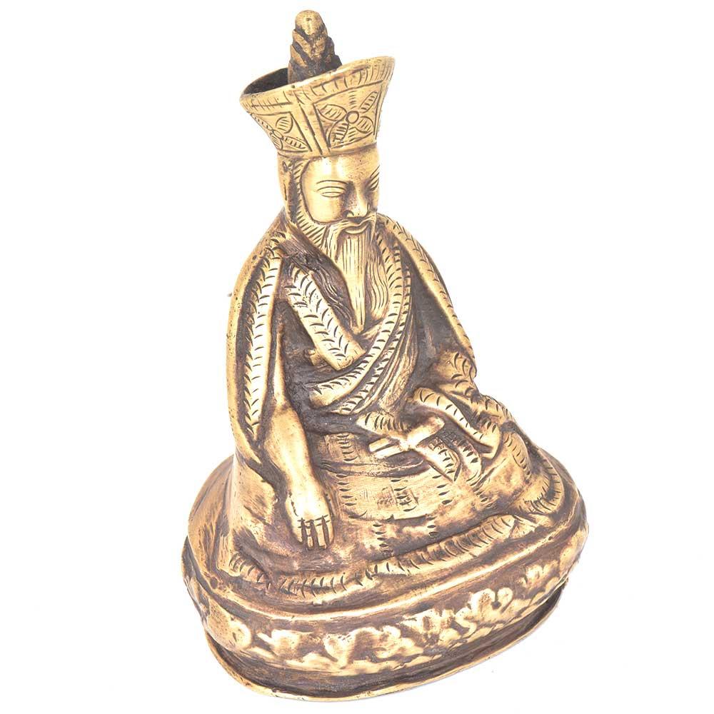 Bronze Wise Man in Meditation Statue