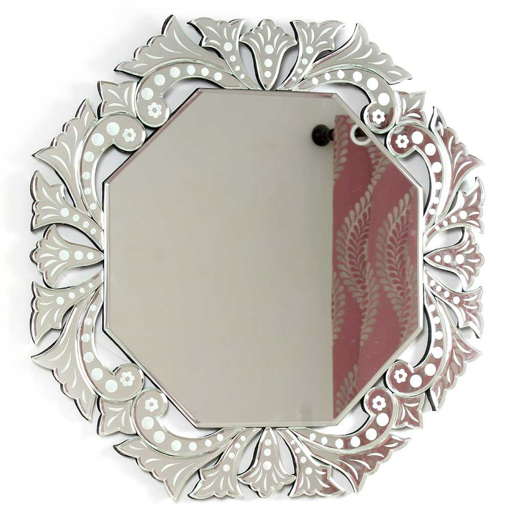 Ornate Octagonal Venetian Mirror