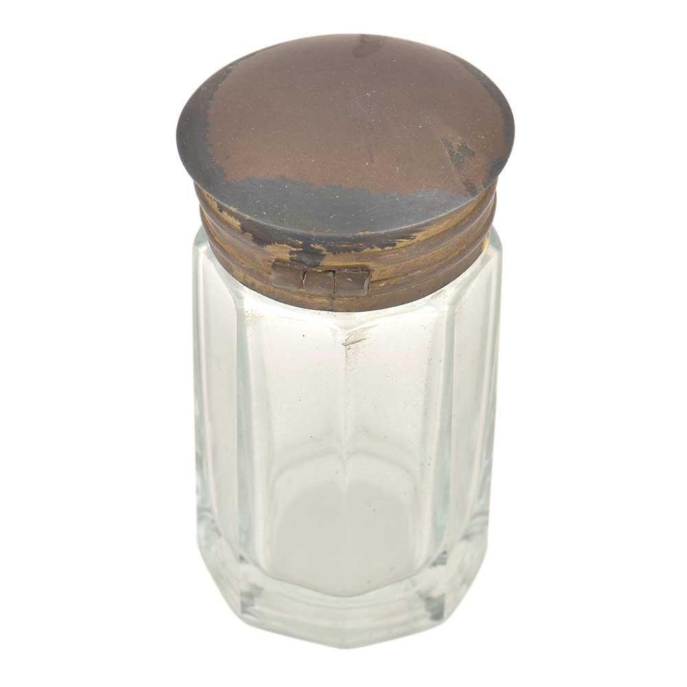 Long Transparent Glass Ink Pot