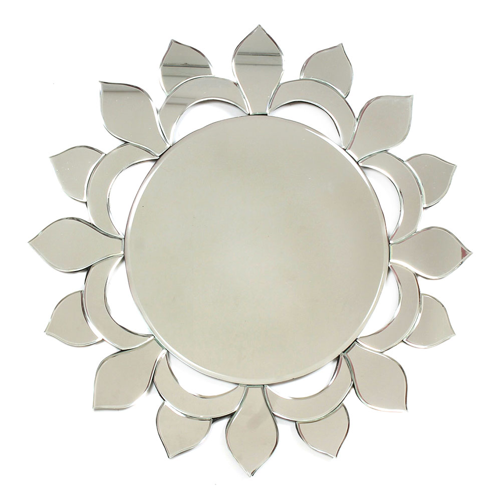 Circular Shaped Venetian Wall Mirror