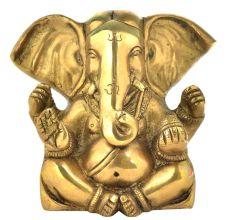 Brass Charbhuja Ganpati With Long Ears