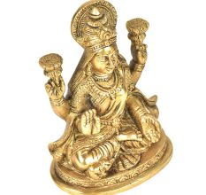 Brass Beautiful Gaja Lakshmi
