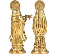 Brass Radha Krishna Set