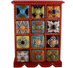 Spice Box-815 Masala Rack Container Gift Items