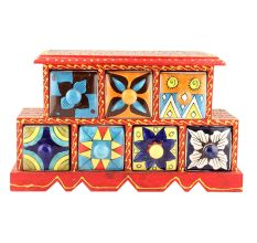 Spice Box-889 Masala Rack Container Gift Items