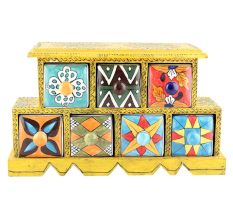 Spice Box-897 Masala Rack Container Gift Items