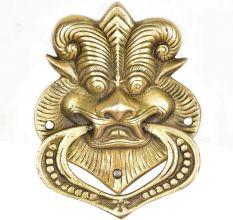 Asian Dragon Brass Door Knocker Ring