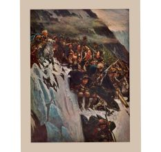 Suvorov's Army Crossing the Alps Poster