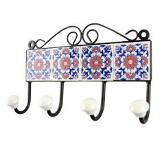 Red Sunflower Ceramic Tile Hook Online