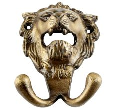 Antique Lion Iron Hook Online