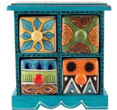Spice Box-932 Masala Rack Container Gift Items