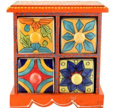 Spice Box-934 Masala Rack Container Gift Items