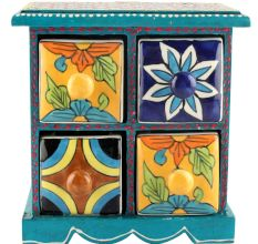 Spice Box-936 Masala Rack Container Gift Items