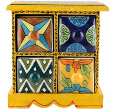 Spice Box-938 Masala Rack Container Gift Items