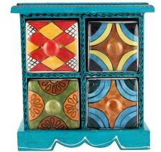 Spice Box-941 Masala Rack Container Gift Items