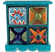 Spice Box-948 Masala Rack Container Gift Items