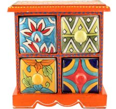 Spice Box-954 Masala Rack Container Gift Items
