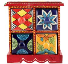 Spice Box-957 Masala Rack Container Gift Items