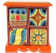 Spice Box-958 Masala Rack Container Gift Items