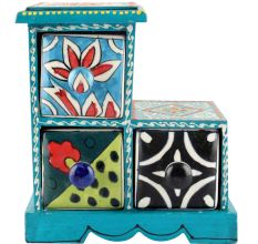 Spice Box-974 Masala Rack Container Gift Items