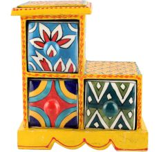 Spice Box-980 Masala Rack Container Gift Items
