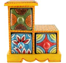 Spice Box-982 Masala Rack Container Gift Items