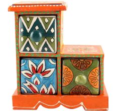 Spice Box-992 Masala Rack Container Gift Items