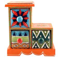 Spice Box-998 Masala Rack Container Gift Items