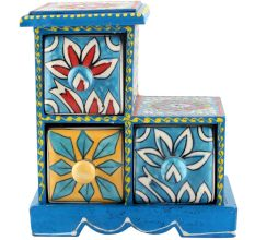 Spice Box-1004 Masala Rack Container Gift Items