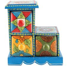 Spice Box-1007 Masala Rack Container Gift Items