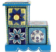 Spice Box-1008 Masala Rack Container Gift Items