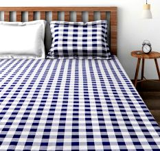 Bombay Dyeing Manchester Bedsheet With Four Pillow Covers