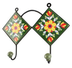 Sunflower Ceramic Tile Wall Hook Online