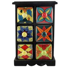 Spice Box-1157 Masala Rack Container Gift Items