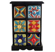 Spice Box-1158 Masala Rack Container Gift Items