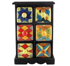 Spice Box-1159 Masala Rack Container Gift Items