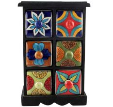 Spice Box-1161 Masala Rack Container Gift Items
