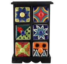 Spice Box-1162 Masala Rack Container Gift Items
