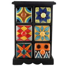 Spice Box-1163 Masala Rack Container Gift Items