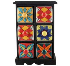 Spice Box-1164 Masala Rack Container Gift Items